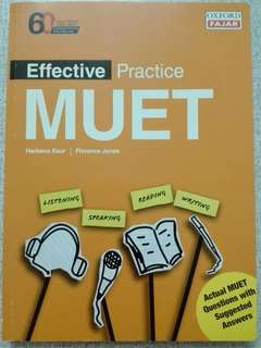 MUET Effective exercise