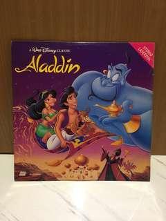 迪士尼 Disney 華特迪士尼卡通阿拉丁 LD 雷射影碟