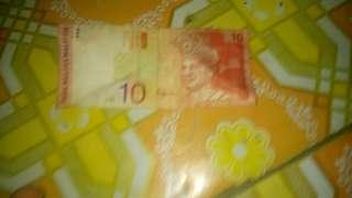 Duit RM 10- Aishah (  Bz 6413875)