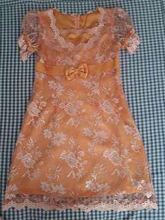 Mini dress babydoll