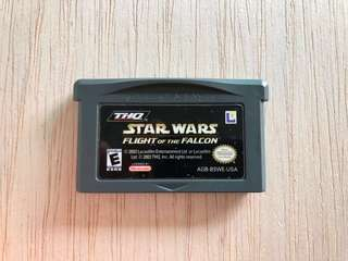 Gameboy Advance Cartridge - Star Wars: Flight of the Falcon