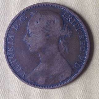 1886 GB Penny coin