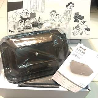 Bruno Compact Hotplate 多功能電烤盤 BEO021 (Brown)