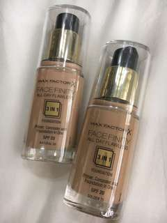 Max Factor Face Finity All-Day Flawless 3-in-1 Foundation SPF20