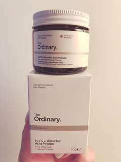 💥新款現貨💥100% L-Ascorbic Acid Powder The Ordinary