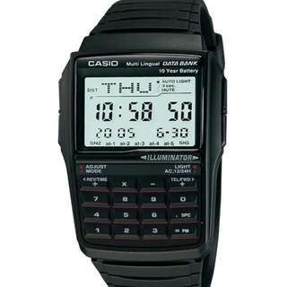 Casio DBC-32-1A Databank Men Calculator