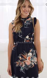 St Frock Size 8 Floral Dress - brand new with tags