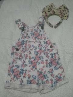 Floral jumper for kids