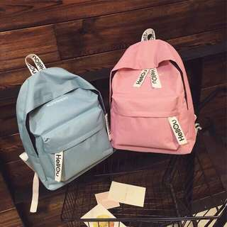 Korean student stule casual backpack