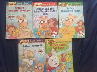 Arthur chapter books by Marc Brown