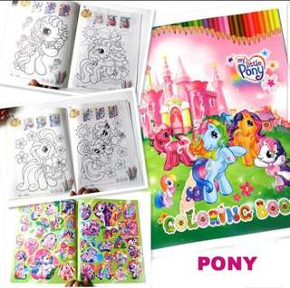 Colouring book with Sticker - Goodie Bag