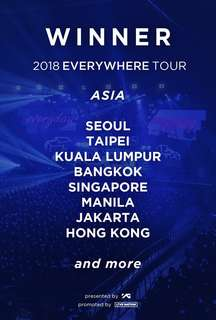 Winner Everywhere Tour in KL