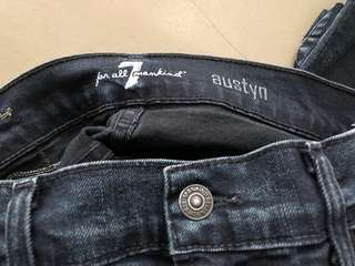 7 for all mankind jeans- authentic