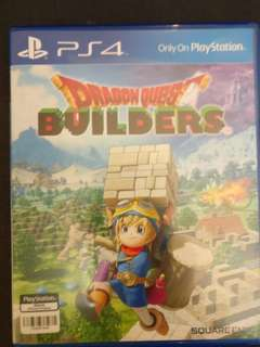 Ps4 Game DRAGON QUEST BUILDERS