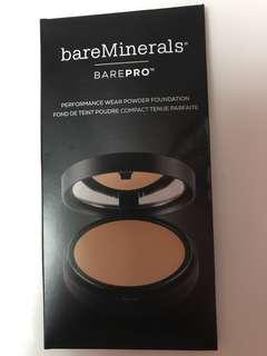 🚚 bareMinerals barePro Performance Wear Powder Foundation Trial / Sample / Travel Size (3 shades)