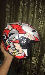 Helmet KYT Simeone Corsi Size M double Size