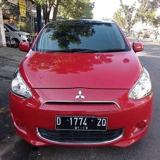 Mitsubishi Mirage GLS matic 2013 merah