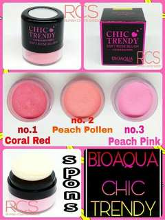 Bioaqua Chic Trendy Soft Rose Blush On Powder