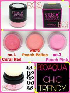 Bioaqua Chic Trendy Soft Rose Blush On Powder
