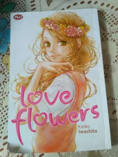 Komik love flowers by MNC