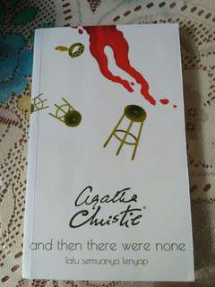 Novel agatha christie bestseller