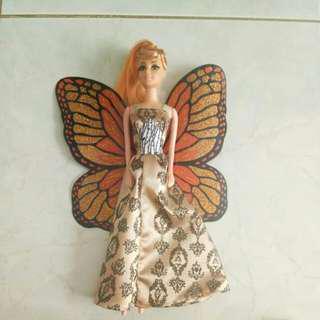 Barbie Peri No Mattel