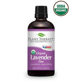 Plant Therapy Lavender Fine Organic Essential Oil 100 mL