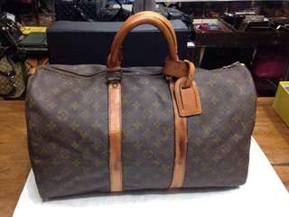 Lv keepall 55 with flaws