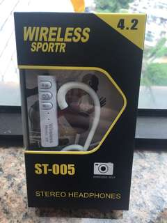 藍牙耳機 wireless stereo headphones o