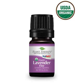 Plant Therapy Lavender Fine Organic Essential Oil 5 mL