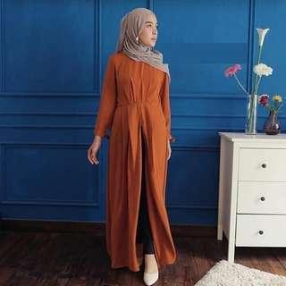 MLA - 0418 - Dress Gamis Busana Muslim Wanita Cossa