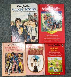 Enid Blyton Books #Animal stories #Malory Towers