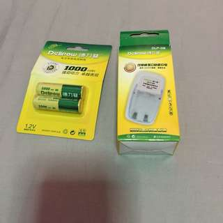 Delipow AA rechargeable battery
