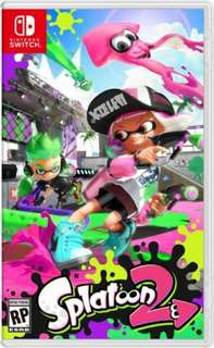 For sale or trade nintendo switch splatoon 2