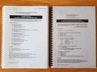 RJC H2 Economics Notes