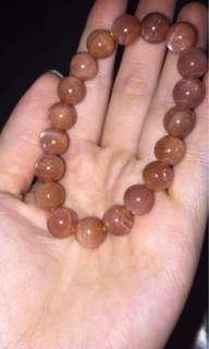 Sunstone Bracelet 10mm
