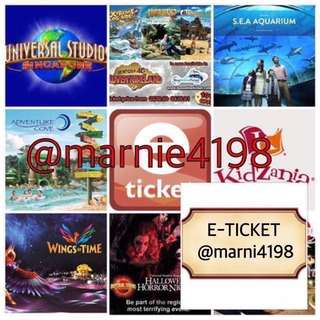 🇸🇬 Singapore Attraction Tickets 🇸🇬 (USS SG ZOO RIVER SAFARI BIRD PARK CABLE CAR & Others)
