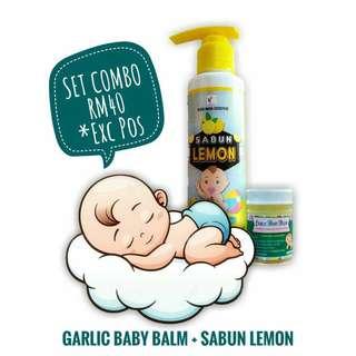 Garlic Baby Balm & Sabun Lemon