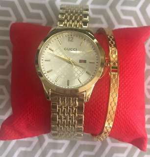 🎁Sale Gucci Watch 2in1 Set