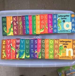 Lettergetters alphabet