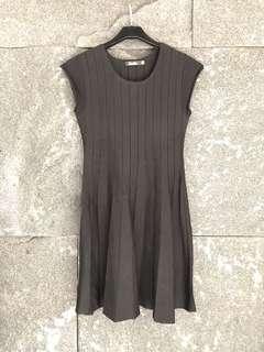 黑色包袖洋裝
