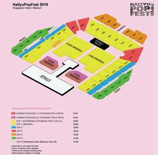 [WTS] HALLYUPOPFEST DAY 2 CAT 1 TICKET