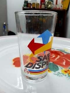 Vintage F&N SAF soda glass