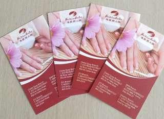 Manicure card