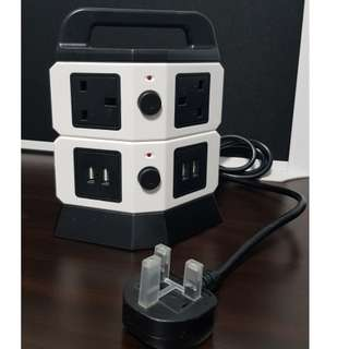 *IN-STOCK 2-Tier Extension Cord