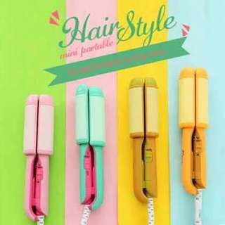 Cute straightener and curling iron