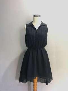 LBD / little black dress / cloth inc / asymetric dress / black dress / dress hitam