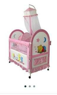 Sweet Heart Paris Baby Cot