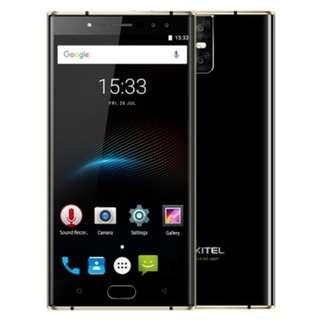 OUKITEL K3 4G PHABLET 5.5 INCH ANDROID 7.0 MTK6750T OCTA CORE 1.5GHZ 4GB RAM 64GB ROM 6000MAH BATTERY FOUR CAMERAS FINGERPRINT SCANNER (BLACK)