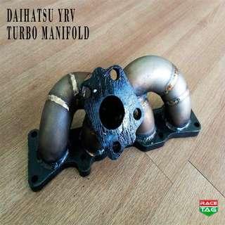 DAIHATSU YRV TURBO MANIFOLD EXHAUST